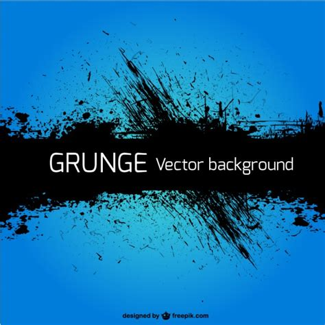 Grunge blue background Vector | Free Download Grunge Vector Background Free Download