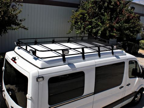 Roof Rack Carriers by Sprinter Roof Racks Aluminess