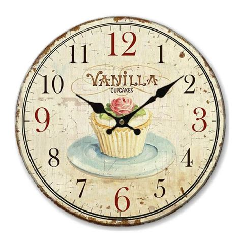 Jam Jam Dinding Gantungan Vintage Style A popular retro kitchen clock buy cheap retro kitchen clock lots from china retro kitchen clock