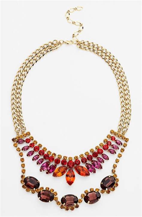 colorful statement necklace colorful statement necklace accessorize