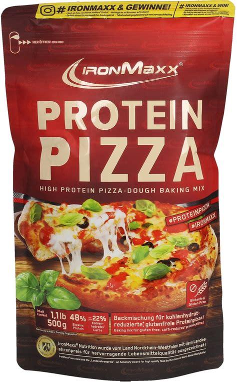 protein pizza protein pizza 500 g ironmaxx vitalabo shop europe