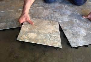 Ceramic Tile Concrete Basement Floor by Basement Flooring 101 Bob Vila