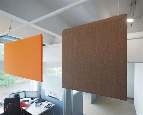 versare updates and enhances ceiling mounted sound panels