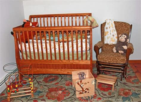Cing Baby Crib A Nursery That S A Jungle Of Magicbabymoments