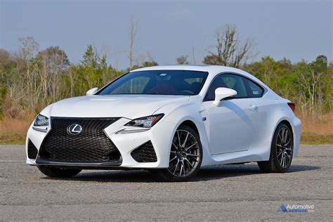 lexus toyota 2015 lexus rc f review test drive