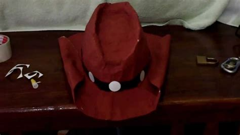 How To Make A Cowboy Hat Out Of Paper - diy how to make a hat tutorial