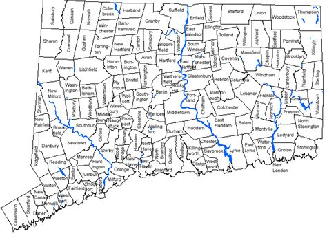 map of ct towns map of ct towns bethel pictures to pin on pinsdaddy
