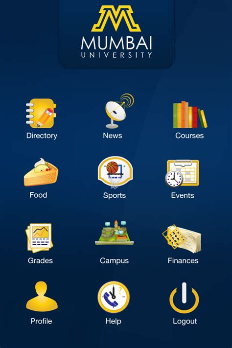 app design university mumbai university app design by webdziner on deviantart