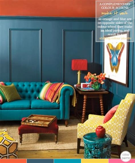 blue and brown living rooms peenmedia com orange and blue living room peenmedia com