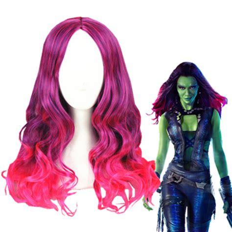 guardians of the galaxy wig gamora 4999 wigs guardians of the galaxy gamora cosplay wig cosplaymades com