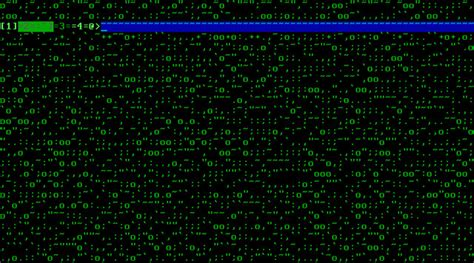 unix pattern whitespace bash can the empty spaces background in a terminal be
