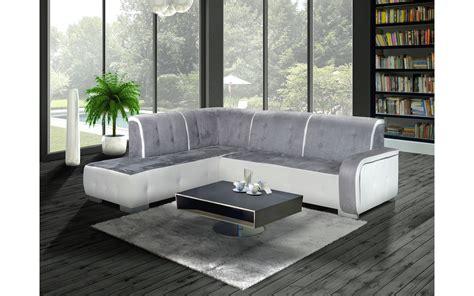 canape angle blanc et gris canap 233 d angle gauche florida gris et blanc top d 233 co
