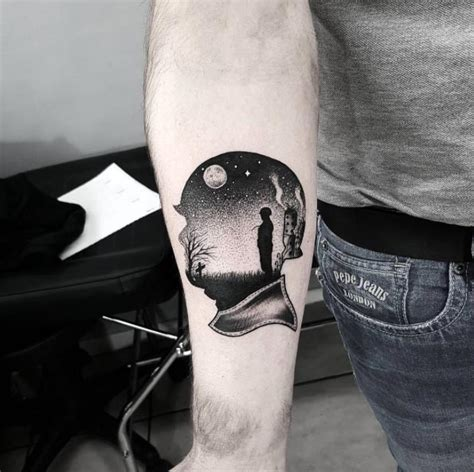 40 unique forearm tattoos for men with style