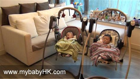 twin baby swing sets best baby swing the graco swing and bouncer 2 in 1