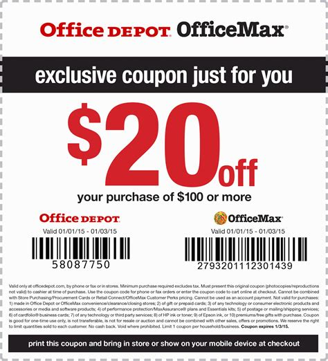 office depot coupons passbook free printable coupons office max coupons
