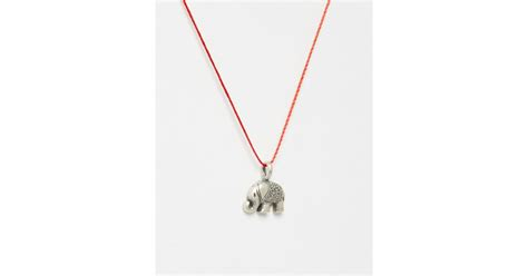 Dogeareds Make A Wish Necklaces by Dogeared Sterling Silver Lucky Us Happy Elephant Make A