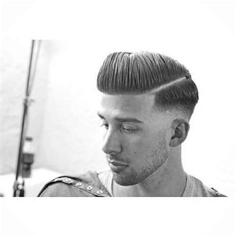 hair part with a line hard part haircuts