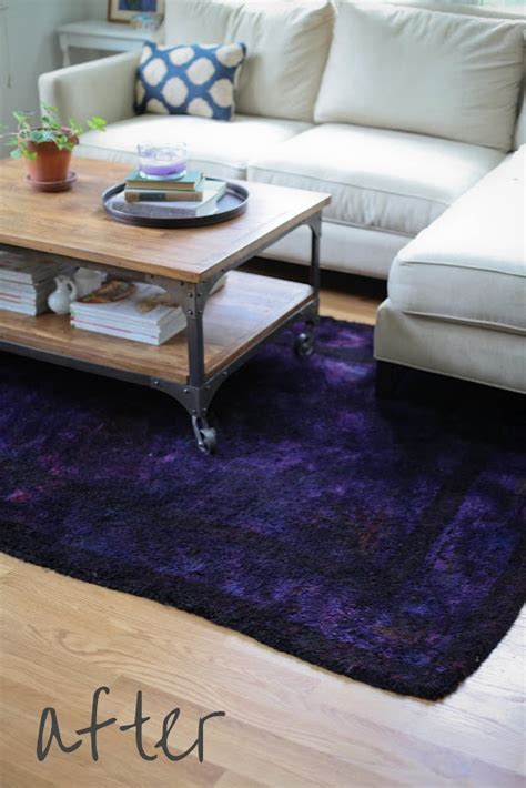 overdyed rug diy how to dye a rug i an runner i want to transform and finally found a tutorial
