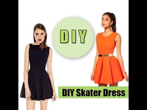 youtube dress pattern making how to make a skater dress easy youtube