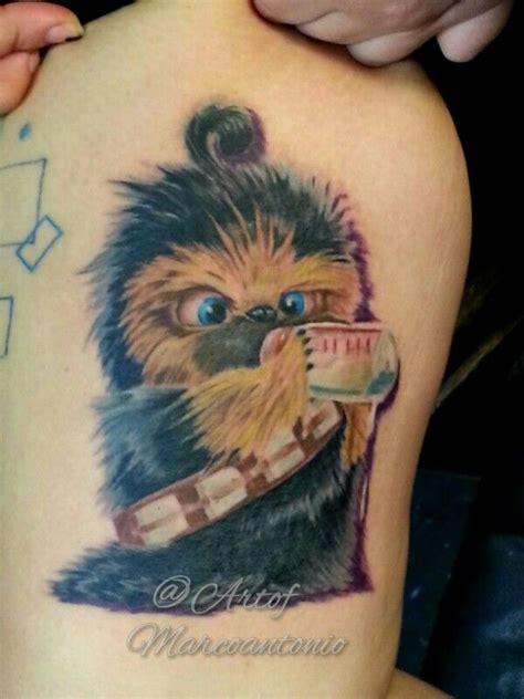 chewbacca tattoo 18 traditional chewbacca tattoos