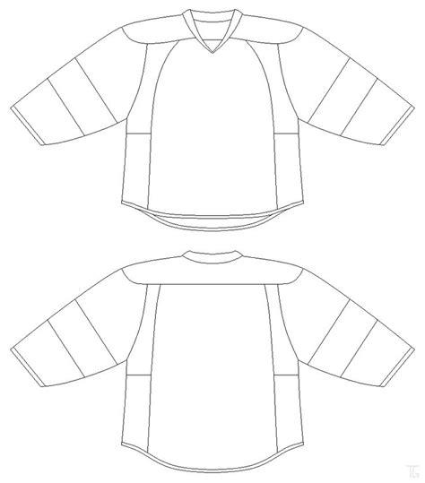 hockey jersey template hockey jersey template printable templates data