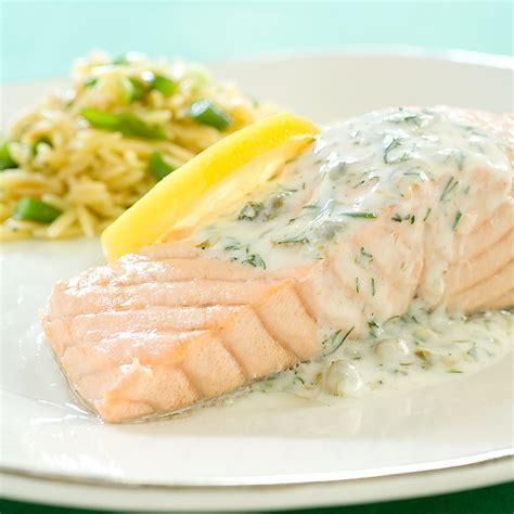 poached salmon recipes poached salmon recipe dishmaps
