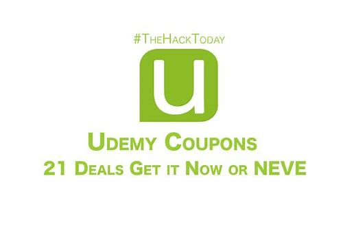 udemy coupon code today