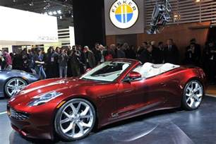 Luxury Electric Cars 2017 Luxury Auto Designer Henrik Fisker Says He Ll Unveil A New
