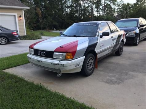 Audi Rally Car For Sale by 1988 Audi 80 Quattro Rally Car Project Classic Audi 80