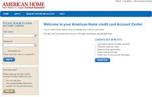 home credit comenity net americanhome american home credit card