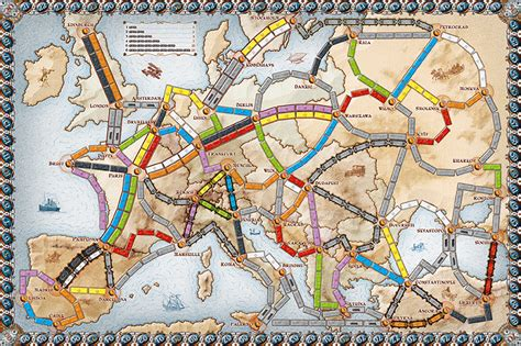 Ticket To Ride Germany Original Board boardgame review ticket to ride europe quot and sometimes