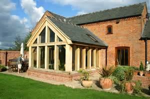 Newburry oak garden room natural structures
