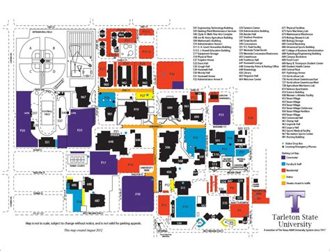 Tarleton State Stephenville Mba by Tarleton Cus Map My
