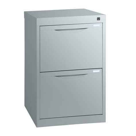 Two Drawer Homefile Vertical Filing Cabinet 455mm Deep Two Drawer Vertical File Cabinet