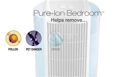 pure ion bedroom air purifier  humidifier