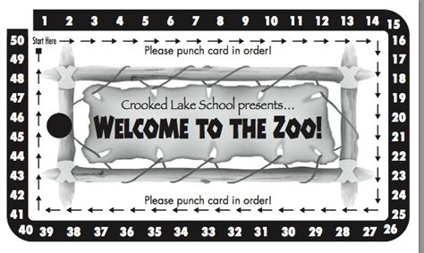 school carnival punch card template 134 best images about fall carnival ideas on