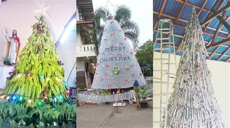 foto cara membuat pohon natal tak kalah kreatif pohon natal di indonesia ini dibuat