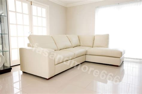 cream leather corner sofa westpoint corner sofa cream real leather right hand side