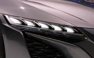 Acura Nsx Headlights Acura Nsx Concept Headlight Detail Photo 45