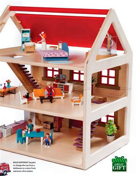 toy house plans woodarchivist