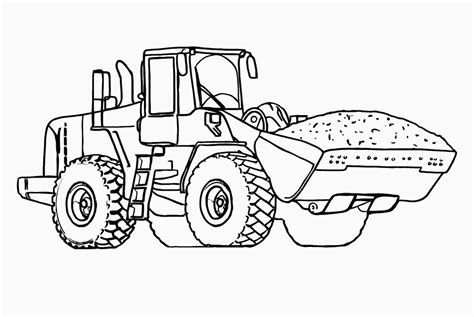 25 Best Tractor Coloring Pages To Print Free Tractor Coloring Pages