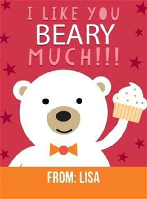 i you beary much card template 1000 images about be mine on day