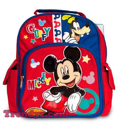 Mickey Mouse Toddler School Bag disney mickey mouse mickey goofy toddler medium school backpack 1 trendyz
