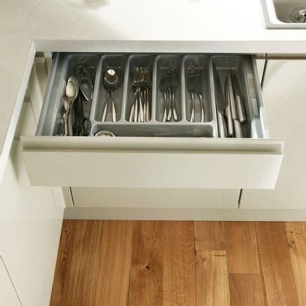 Silver cutlery tray to suit standard drawers   Kitchen