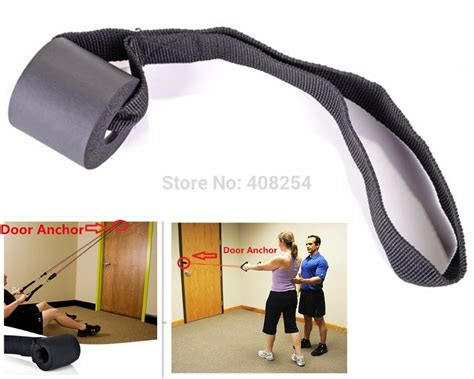 resistance bands set or one foam door anchor
