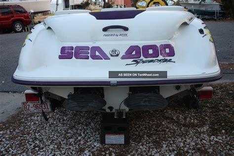 sea doo boat owners manual 1996 seadoo speedster owners manual