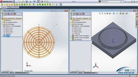 tutorial video solidworks blechformwerkzeuge in solidworks erstellung und