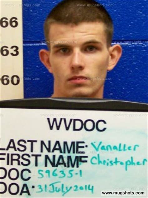 Mercer County Wv Arrest Records Christopher J Vanaller Mugshot Christopher J Vanaller Arrest Mercer County Wv