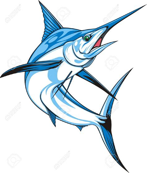 Kaos Activities Graphic 18 Oceanseven blue marlin fish clipart clipartxtras