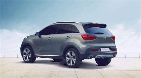 Kia Suv Car Kia Kx3 Baby Suv Outed In China Photos 1 Of 3